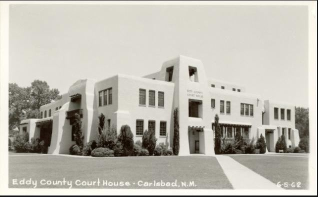Eddy Co Courthouse-1962