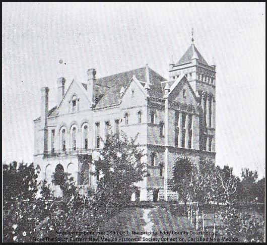 1894-March Courthouse from SW-18 Ft Trees